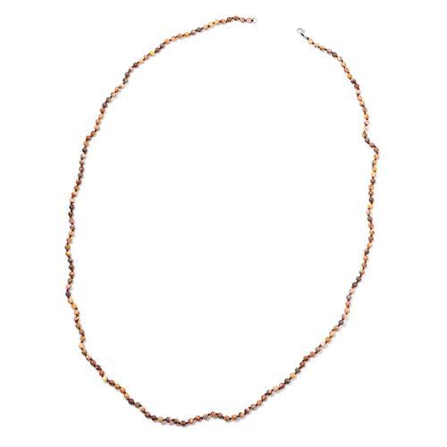 Rhyolite Jasper Necklace (Size 36) in Sterling Silver 55.000 Ct.