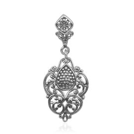 Royal Bali Collection Sterling Silver Pendant, Silver wt 3.13 Gms.