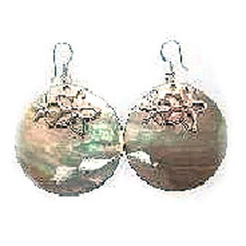 Shell Hook Earrings in Sterling Silver 35.000 Ct.