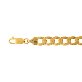 Close Out Deal 9K Y Gold Flat Curb Chain (Size 20), Gold wt 21.00 Gms.