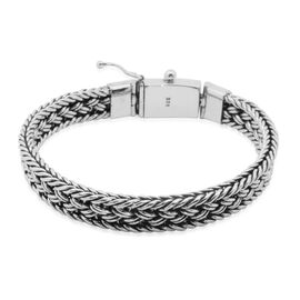 Royal Bali Collection Sterling Silver Bracelet (Size 7.5), Silver wt 41.96 Gms.