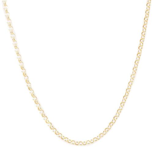 JCK Vegas Collection - 9K Y Gold Belcher Necklace (Size 20), Gold wt 4.15 Gms.