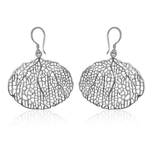 Royal Bali Collection Sterling Silver Hook Earrings, Silver wt 5.08 Gms.