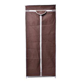 DOD - Chocolate Colour Foldable Wardrobe (Size 150x58x45 Cm)