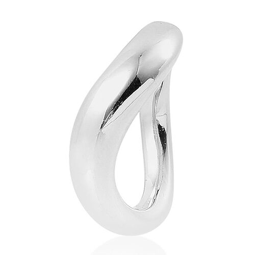 LucyQ Ring in Rhodium Plated Sterling Silver 7.45 Gms.