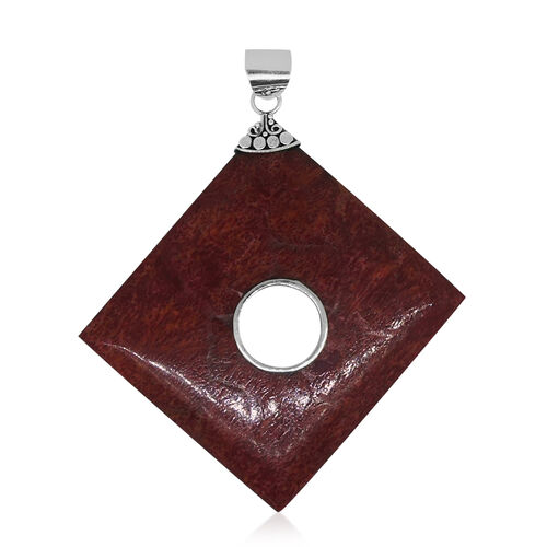 Royal Bali Collection Sponge Coral Pendant in Sterling Silver 27.000 Ct.