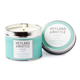 Heyland and Whittle Clementine & Prosecco Candle in a Tin 180g