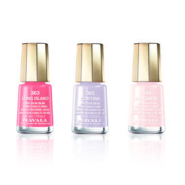 (Option 1) MAVALA- 3 Piece Polish Set Long Island- Long Island 363, Spitzberg 318 and Cortina 365,