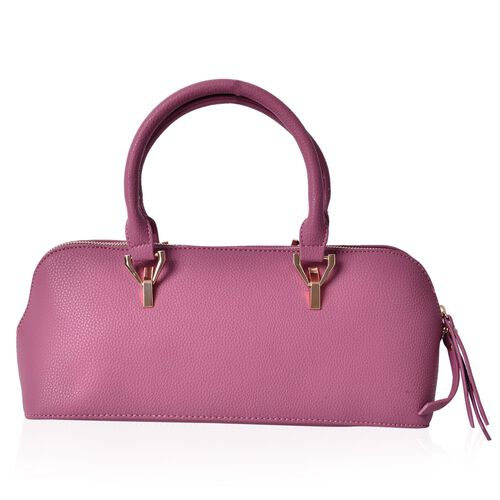 Purple Colour Tote Bag (Size 34x15x13 Cm)