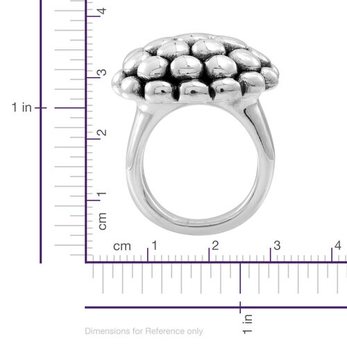 Statement Collection Sterling Silver Ring, Silver wt 11.00 Gms.