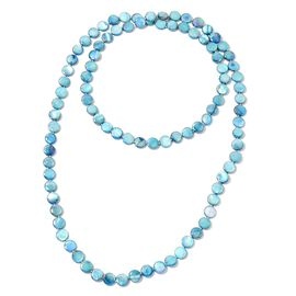Peacock Shell Beads Necklace (Size 46) 433.000 Ct.