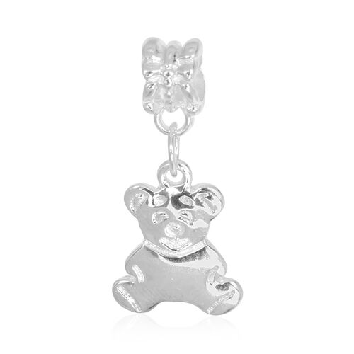 Sterling Silver Teddy Charm