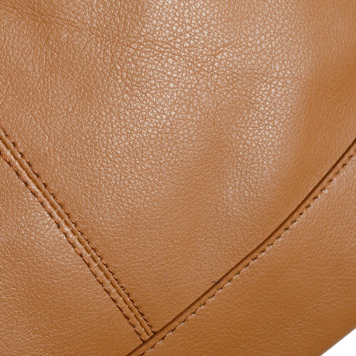 Pottery  Genuine Leather Tan Colour Shoulder Bag