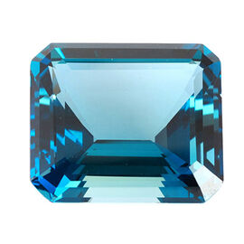 London Blue Topaz (Oct 18 x13 Faceted 4A) 20.000 Cts
