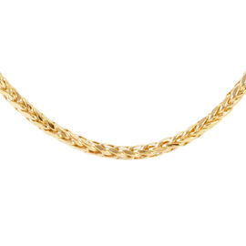 JCK Vegas Collection - ILIANA 18K Yellow Gold Fox tail Chain Necklace 6.9 Grams (Size 20)