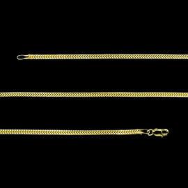 9K Y Gold Royal Bali Designer Chain (Size 20) 3.42 Gms