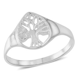 Thai Sterling Silver Tree of Life Ring
