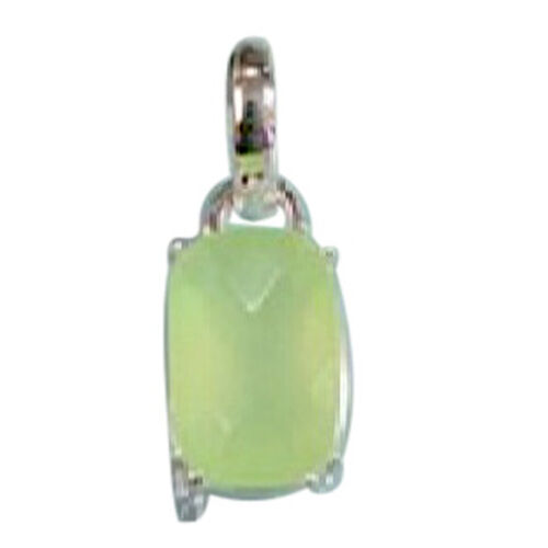 Chalcedony Pendant in Sterling Silver 3.700 Ct.