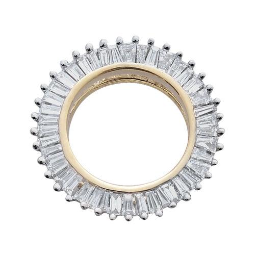 ILIANA 18K Y Gold IGI Certified Diamond (Bgt) (SI/G-H) Circle of Life Pendant 0.500 Ct.