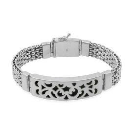 Royal Bali Collection Sterling Silver Bracelet (Size 8), Silver wt 61.30 Gms.