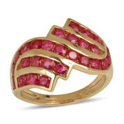 9K Y Gold Burmese Ruby (Rnd) Ring 2.000 Ct.