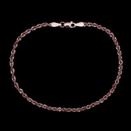 JCK Vegas Collection 9K R Gold Rope Bracelet (Size 7.5), Gold wt 1.08 Gms.
