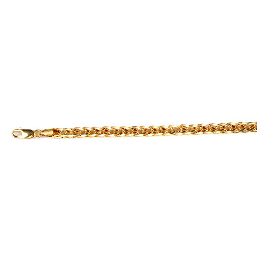 Limited Edition- 9K Y Gold Spiga Chain (Size 24), Gold wt 16.17 Gms.