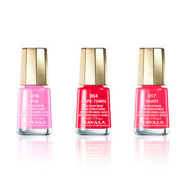 MAVALA- 3 Piece Polish Set Fiji- Fiji 316, Cape Town 364 and Tahiti 317