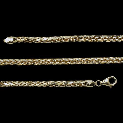 Royal Bali Collection 9K Y Gold Tulang Naga Bracelet (Size 7.5), Gold wt 4.87 Gms.
