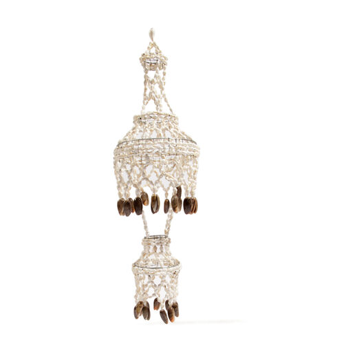 One Time Deal- Home Decor Hand Made Multi Shell Chandelier