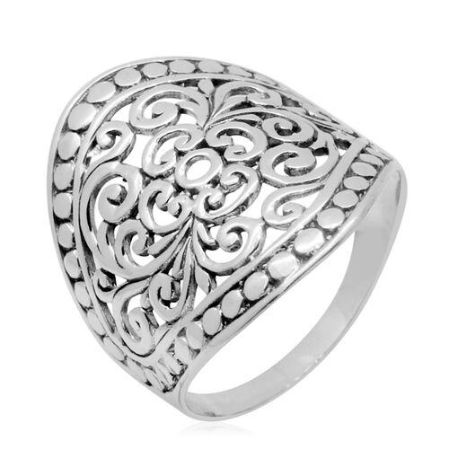 Royal Bali Collection Sterling Silver Ring, Silver wt 4.98 Gms.