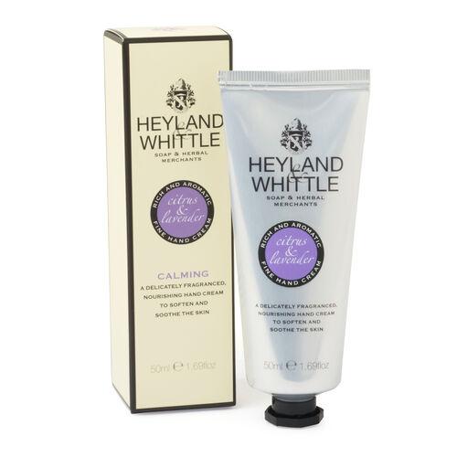 Heyland and Whittle Luxury Handmade Creams Citrus and Lavender (50 ml)