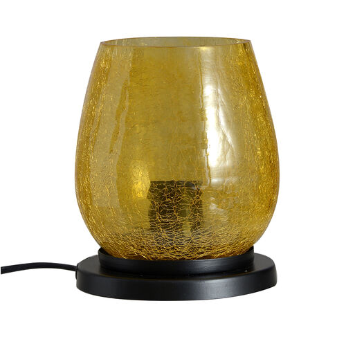 (Option-1) Hand Made Crushed Glass Mosaic Table Lamp