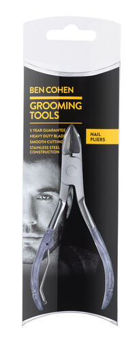 Ben Cohen Male Grooming Kit 2- Nail Pliers, 3 Way buffer, Moustache & Beard Scissors, Moustache & Beard Comb