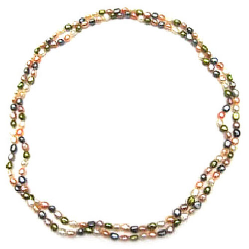 Fresh Water Pearl  Multi Colour Necklace  450.000  Ct.