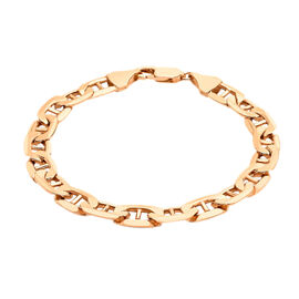 Close Out Deal Italian 9K R Gold Rambo Chain Bracelet (Size 8), Gold wt 10.40 Gram