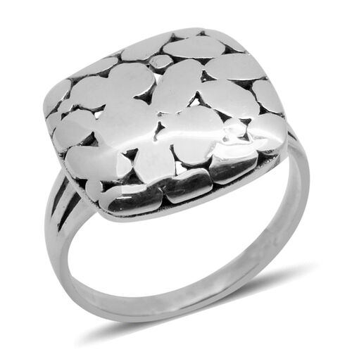 Royal Bali Collection Sterling Silver Ring, Silver wt 5.17 Gms.