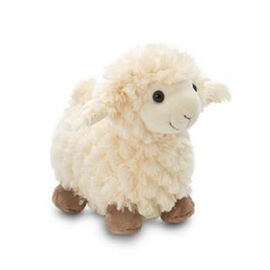Cream Colour Standing Sheep (Size 20 Cm)