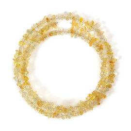 Citrine Beads Necklace (Size 36) 315.00 Ct.