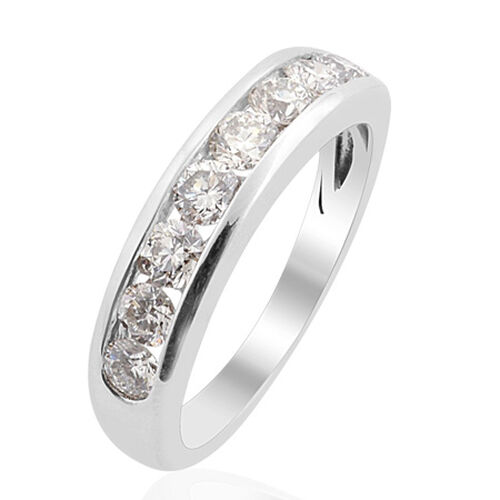 RHAPSODY 950 Platinum Diamond (Rnd) (Clarity VS Colour E-F) Ring  1.000 Ct.