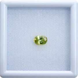 Sava Sphene (Ovl 7x5 mm Faceted 3A) 0.870 Ct.