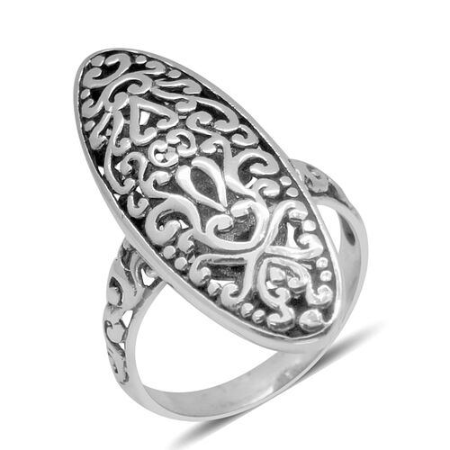 Royal Bali Collection Sterling Silver Ring, Silver wt 4.15 Gms.