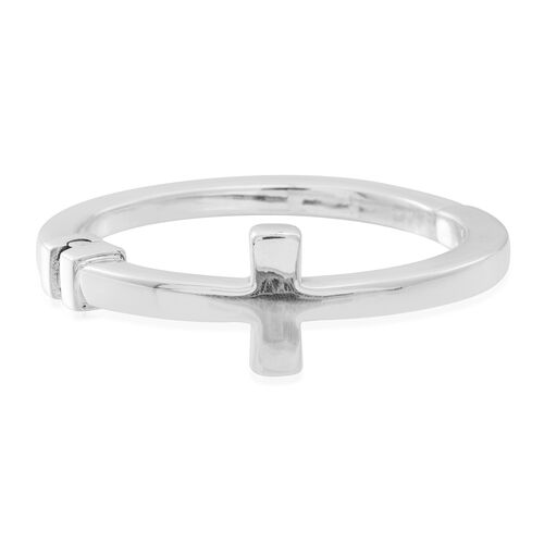 Statement Collection Sterling Silver Bangle  Silver wt 27.80 Gms.