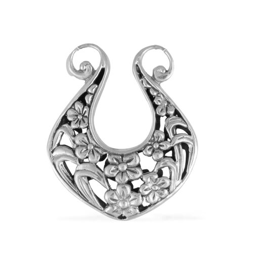 Royal Bali Collection Sterling Silver Pendant, Silver wt 9.50 Gms.