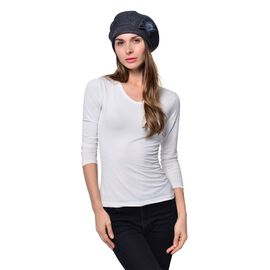 Grey Colour Ladies Cap