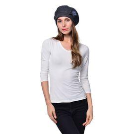 Grey Colour Ladies Cap