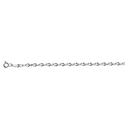 JCK Vegas Collection Sterling Silver Chain (Size 20), Silver wt 4.44 Gms.