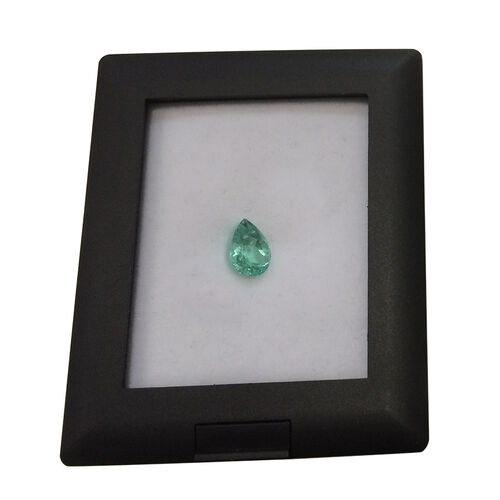 Boyaca Colombian Emerald (Pear 9.3x6.5 Faceted 3A) 1.550 Ct.