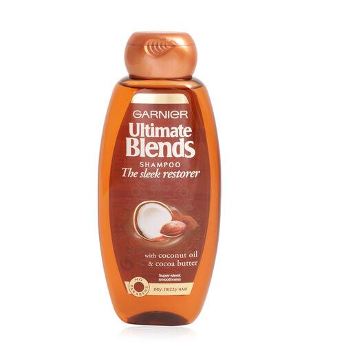 Garnier Ultimate Blends Sleek Restorer Shampoo 400ml