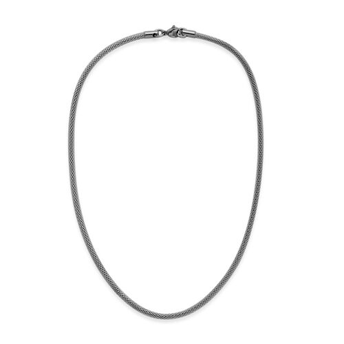 Stainless Steel Mesh Necklace (Size 18)